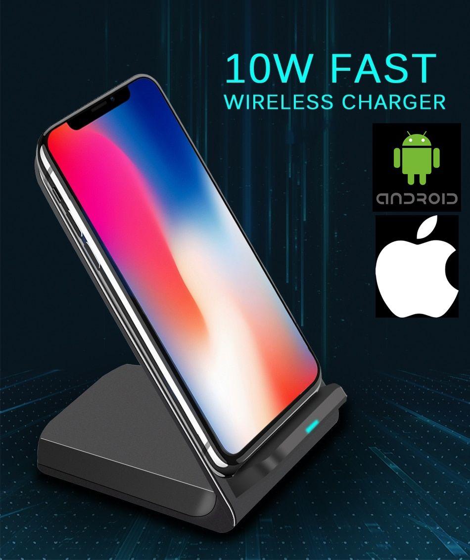 Carregador Sem Fio Universal Docking Wireless para iPhone e Android