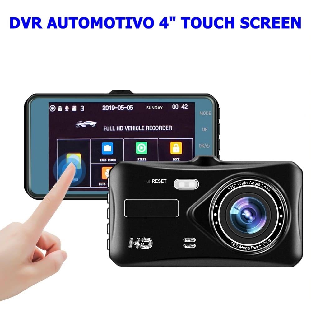 DVR Veicular Full HD, Visão Noturna, 32Gb