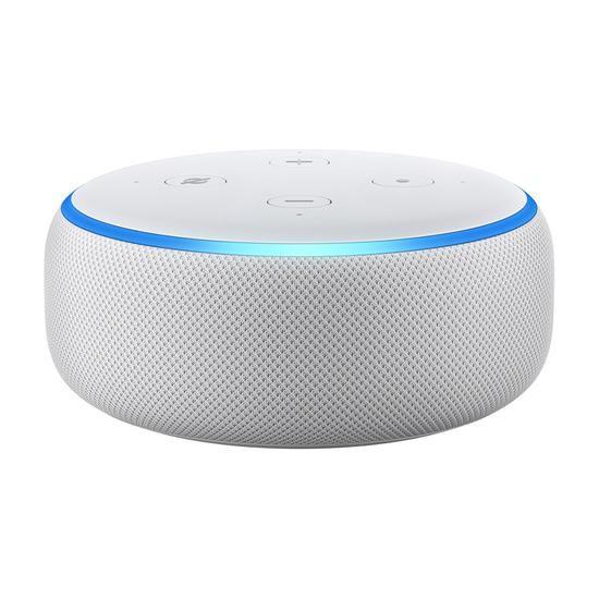 Echo Dot Amazon Smart Speaker Alexa 3ª Geração em Português