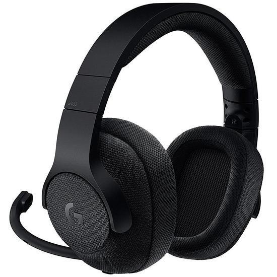 Headset Gamer e Fone de Ouvido Logitech G433 Preto