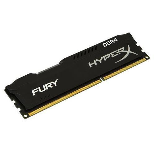 Memória Kingston HyperX Fury DDR4 8GB 2400MHz / 2666MHz