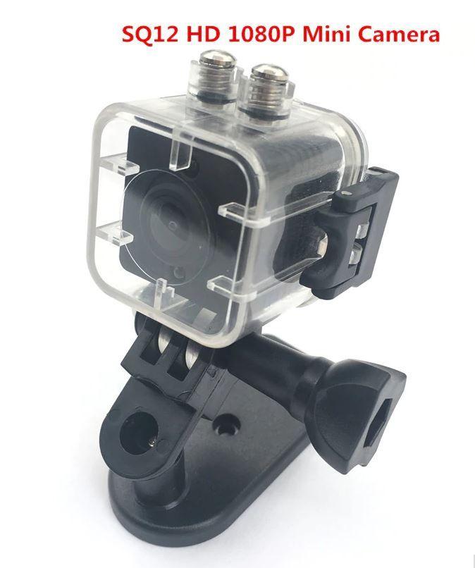 Mini Camera Espiã SQ12 1080p Full HD com Case Aquático e Memória 16gb