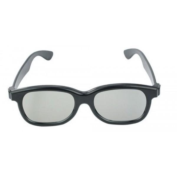 Óculos 3D Universal Polarizado Passivo Circular - LG / Sony / Samsung / Philips / AOC