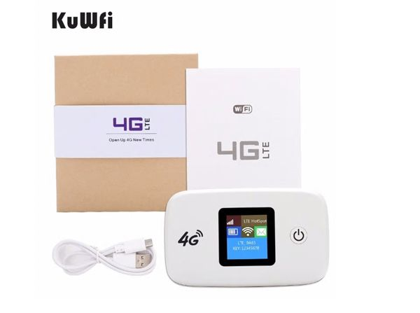 Roteador WiFi 4G Portátil com Bateria Interna Desbloqueado