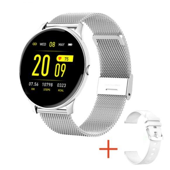 Smartwatch KW19 1.3 Polegadas Monitor Cardíaco e a prova d'água
