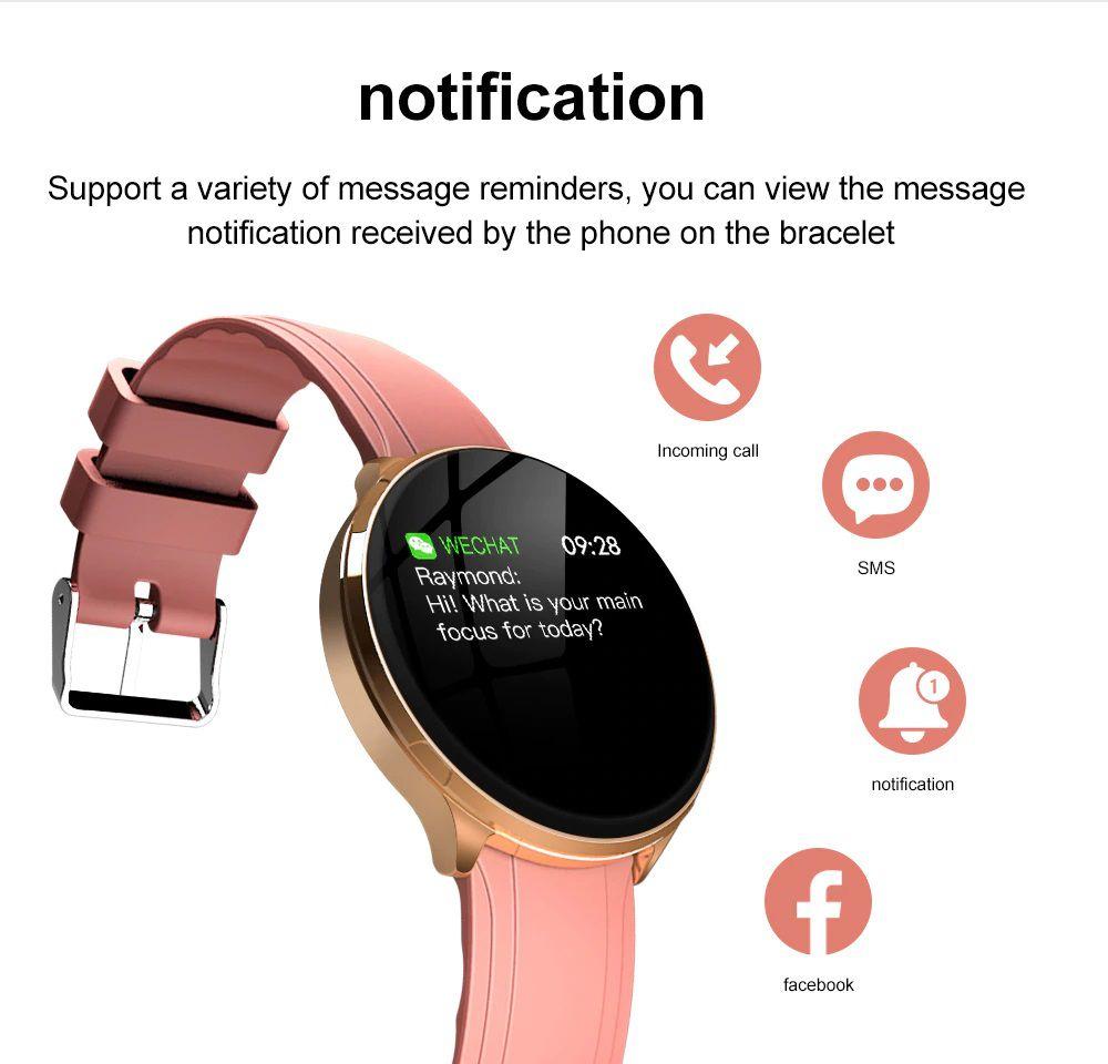 Smartwatch LEMFO V12 Tela de 1.3 pol. Monitor Cardíaco e a prova d'água