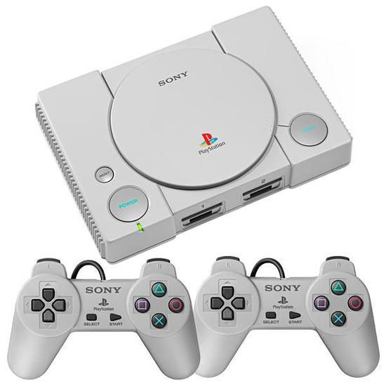 Sony Playstation 1 Classic 20 Jogos 2 Controles HDMI SCPH-1000R