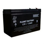 Bateria Selada 12v 7a Para Alarmes Cerca Elétrica