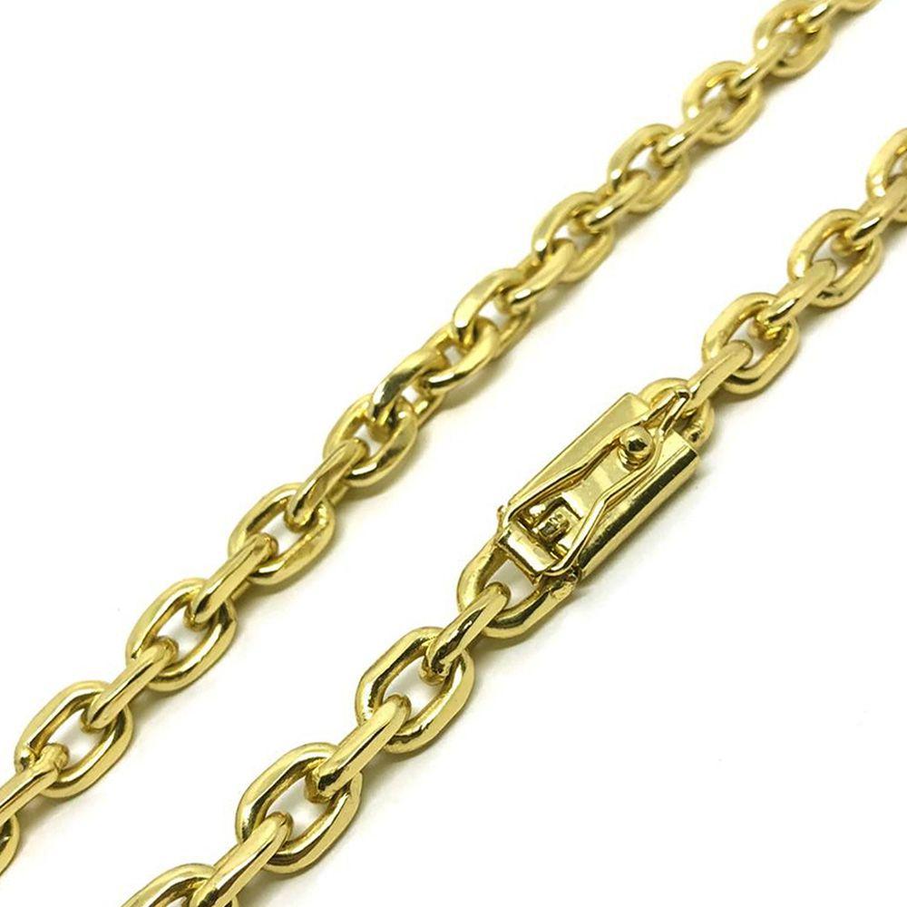 d6cb027a4d3 Cordão Cartier Cadeado 5mm Banhado a Ouro 18k - Magnata Joias ...