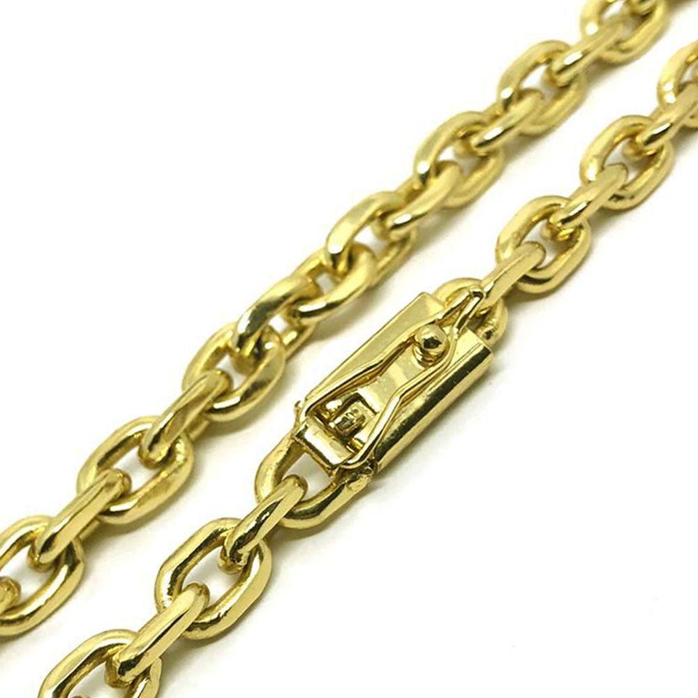 5455c0a2e30 Cordão Cartier Cadeado 7mm Banhado a Ouro 18k - Magnata Joias ...