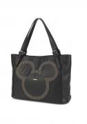 Bolsa Feminina Ombro Mickey Mouse Couro Sintético Original