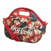 Bolsa Lancheira Térmica Coca Cola Estampa Floral Original