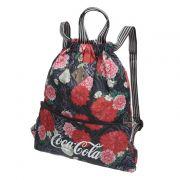 Bolsa Saco Floral Coca Cola Bags Produto Produto Original