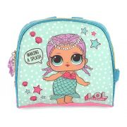 Lancheira Térmica Infantil LOL Surprise Original Azul