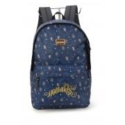 Mochila Alça de Costas Harry Potter Azul Dourado Original
