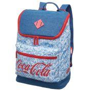 Mochila de Costas com alça Coca-cola Azul Produto Original