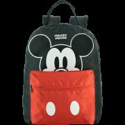 Mochila de Costas Juvenil Short Mickey Mouse Preta Original