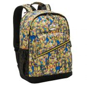 Mochila De Costas Notebook Os Simpsons Personagens Amarela