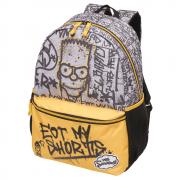 Mochila Escolar Costas Bart Simpson Eat My Original Garantia