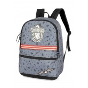 Mochila Harry Potter Quadribol Cinza Hogwarts Original