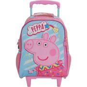Mochila Infantil Rodinha Peppa Pig Fantastic Original Nota