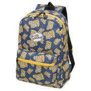 Mochila Os Simpsons Bart Simpson  Azul Bartography Original