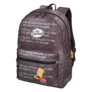 Mochila Os Simpsons Chalkboard Lousa Bart Simpson Original