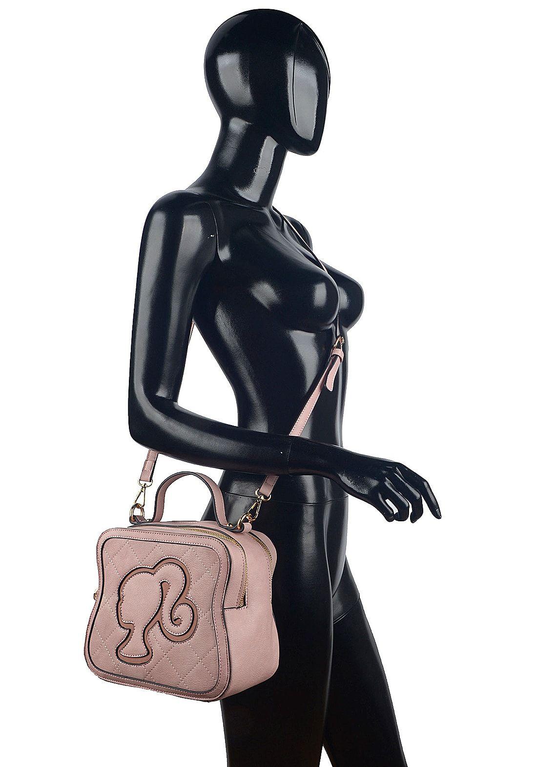 Bolsa Barbie Pequena de Colo Transversal Rosa Nude