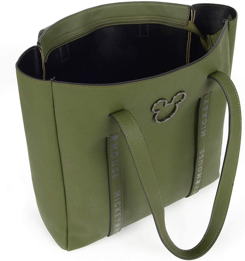 Bolsa Feminina Ombro Verde Mickey Mouse Produto Original