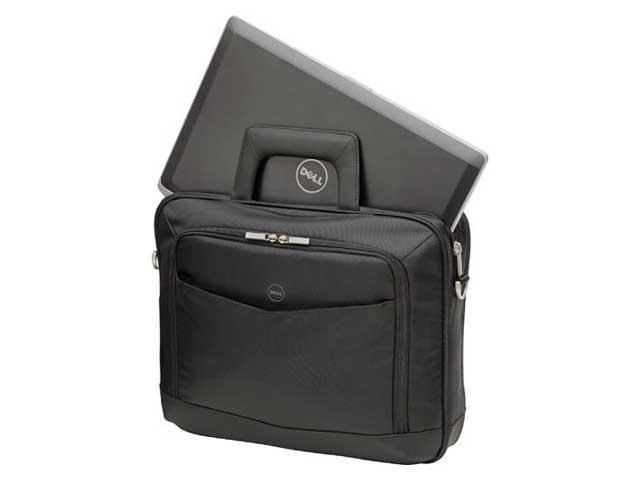 "Bolsa Maleta Para Notebook Pasta Dell Professional 14"" Masculina Preto"