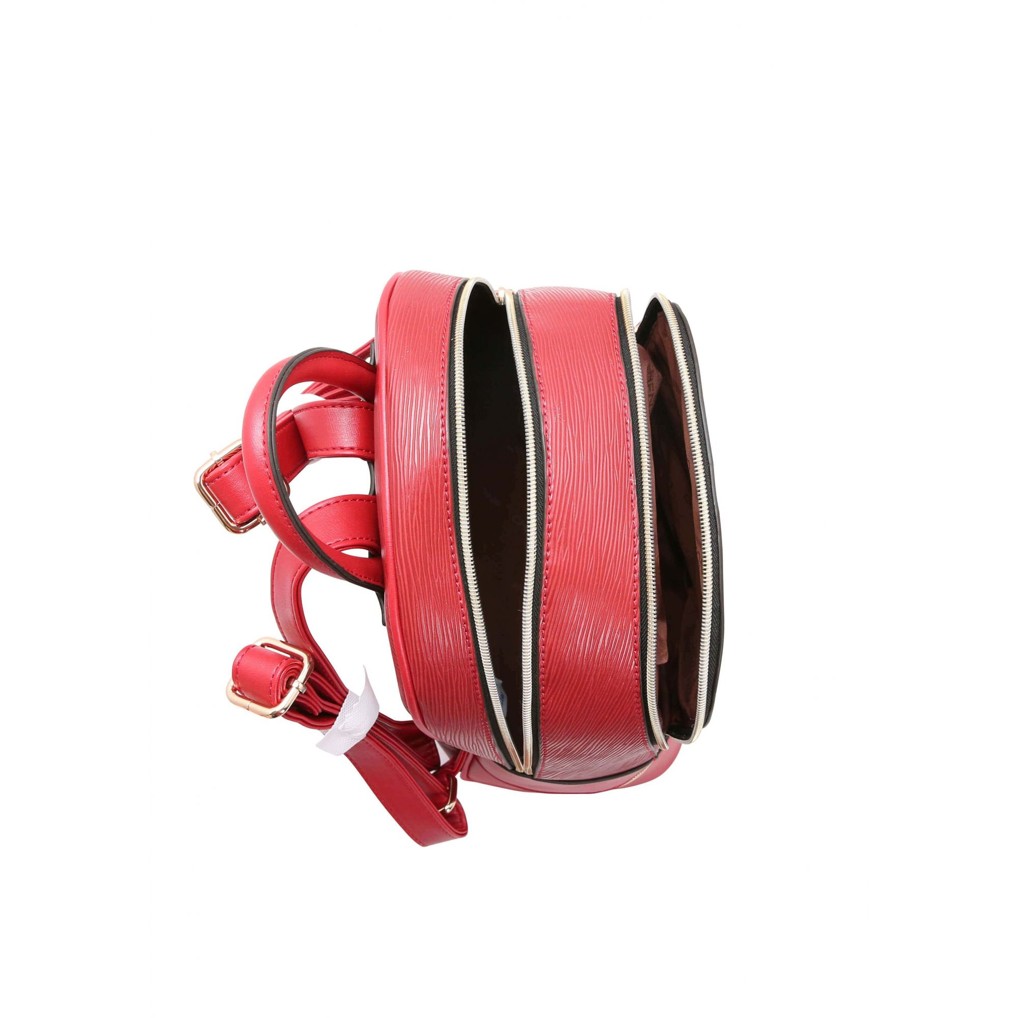 Bolsa Mochila de Costas Feminina Chenson Vermelha Original