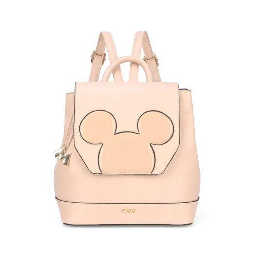 Bolsa Mochila Mickey Mouse Nude Disney Couro Sintet Original