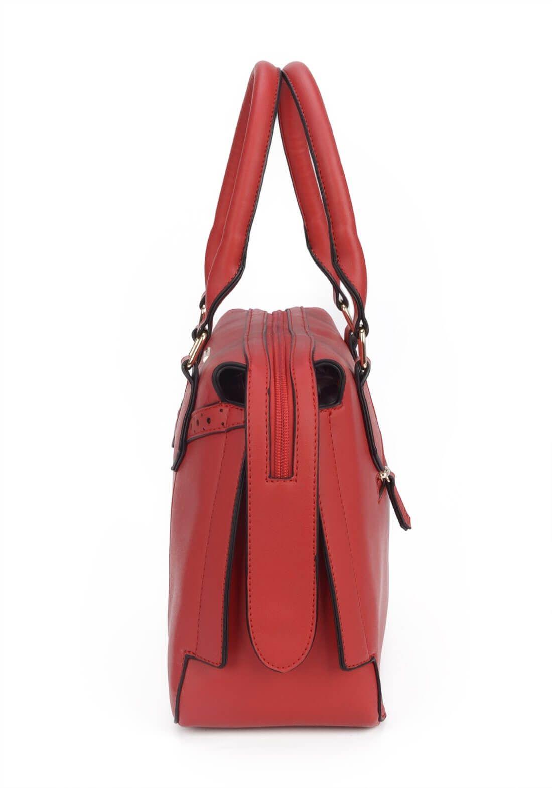 Bolsa Tiracolo Gash Transversal Vermelha Original