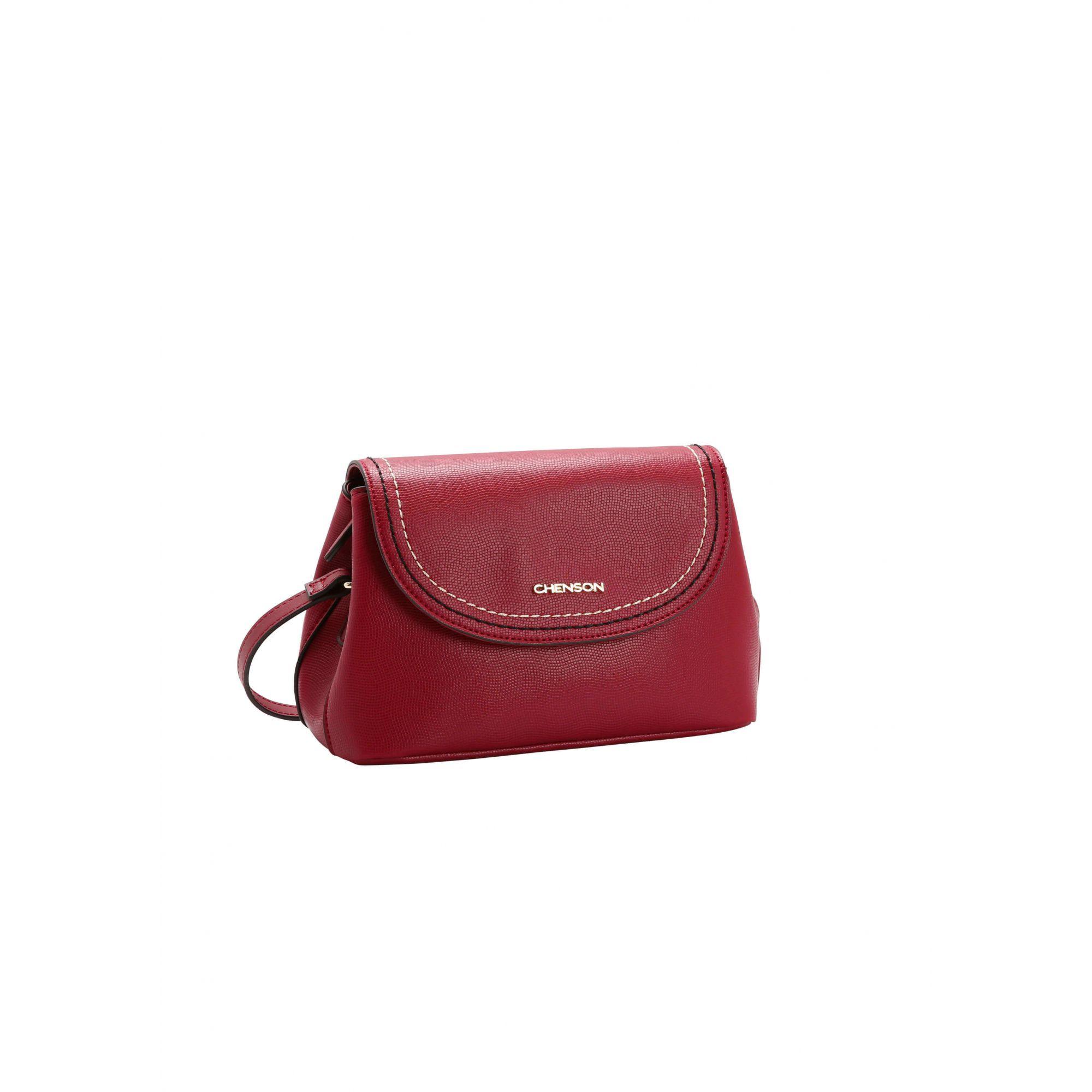 743ac8151 Bolsa Transversal Pequena Chenson Vermelha Original Tip Bau - Le Bazar ...