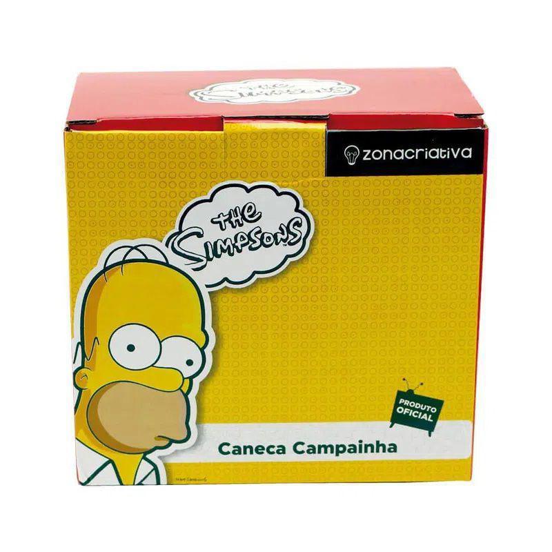 Caneca Com Campainha The Simpsons Copo Duff Hommer Original