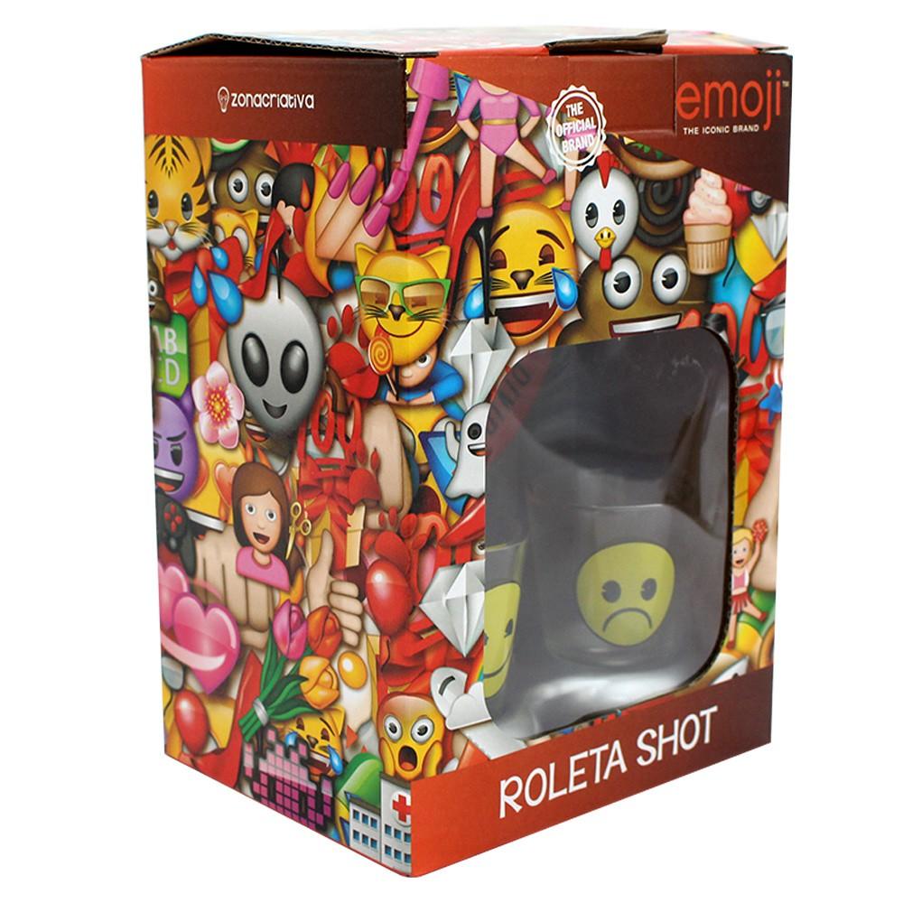Drink Game c/ 2 shots Jogo De Roleta Emoji Produto Original