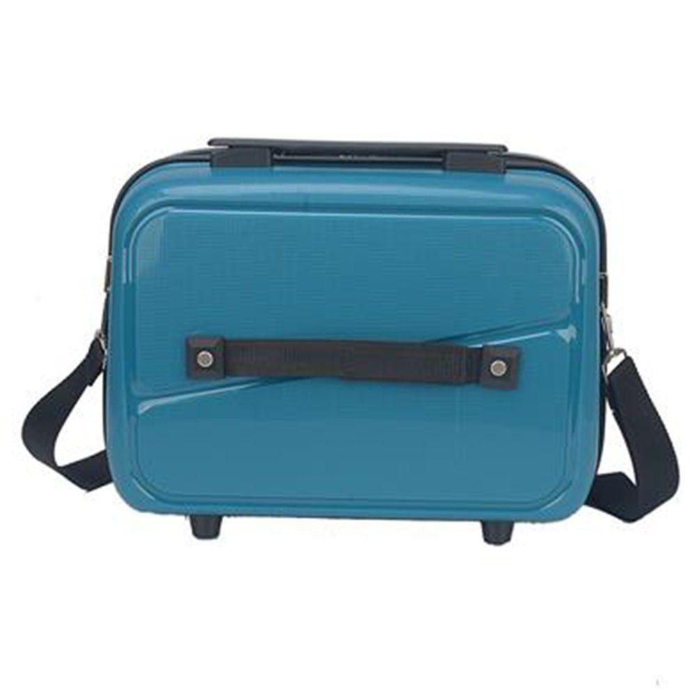 Frasqueira de Viagem Rígida Necessaire Polo King Maleta Verde Água Azul