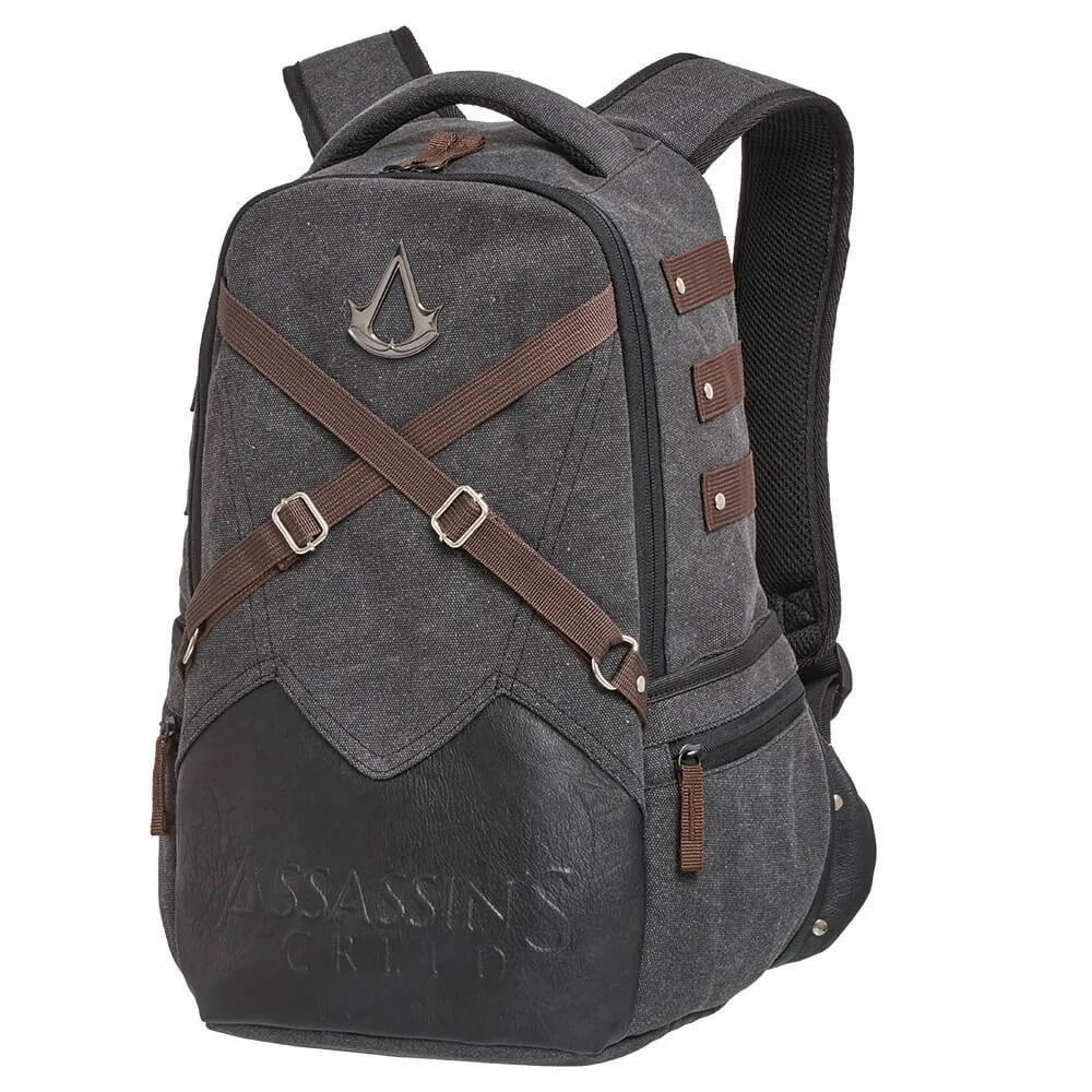 Kit Mochila Notebook Assassins Creed +Estojo Duplo Original