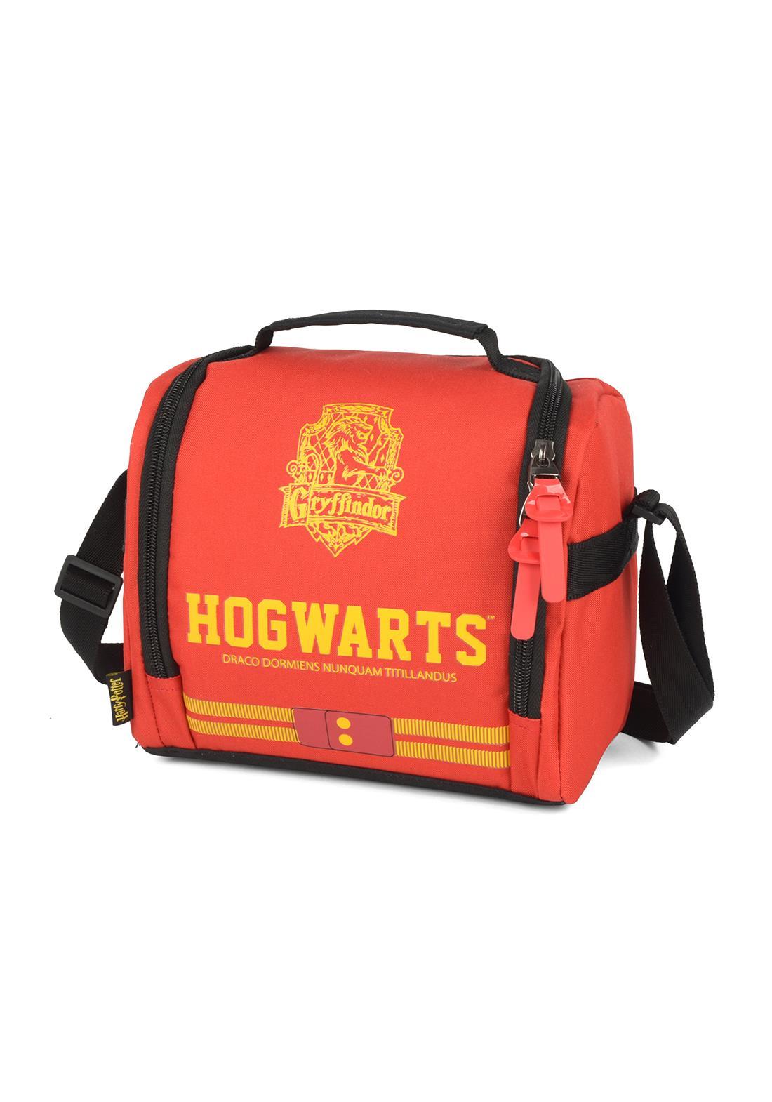 Lancheira Harry Potter Grifinoria Hogwarts Vermelha Original