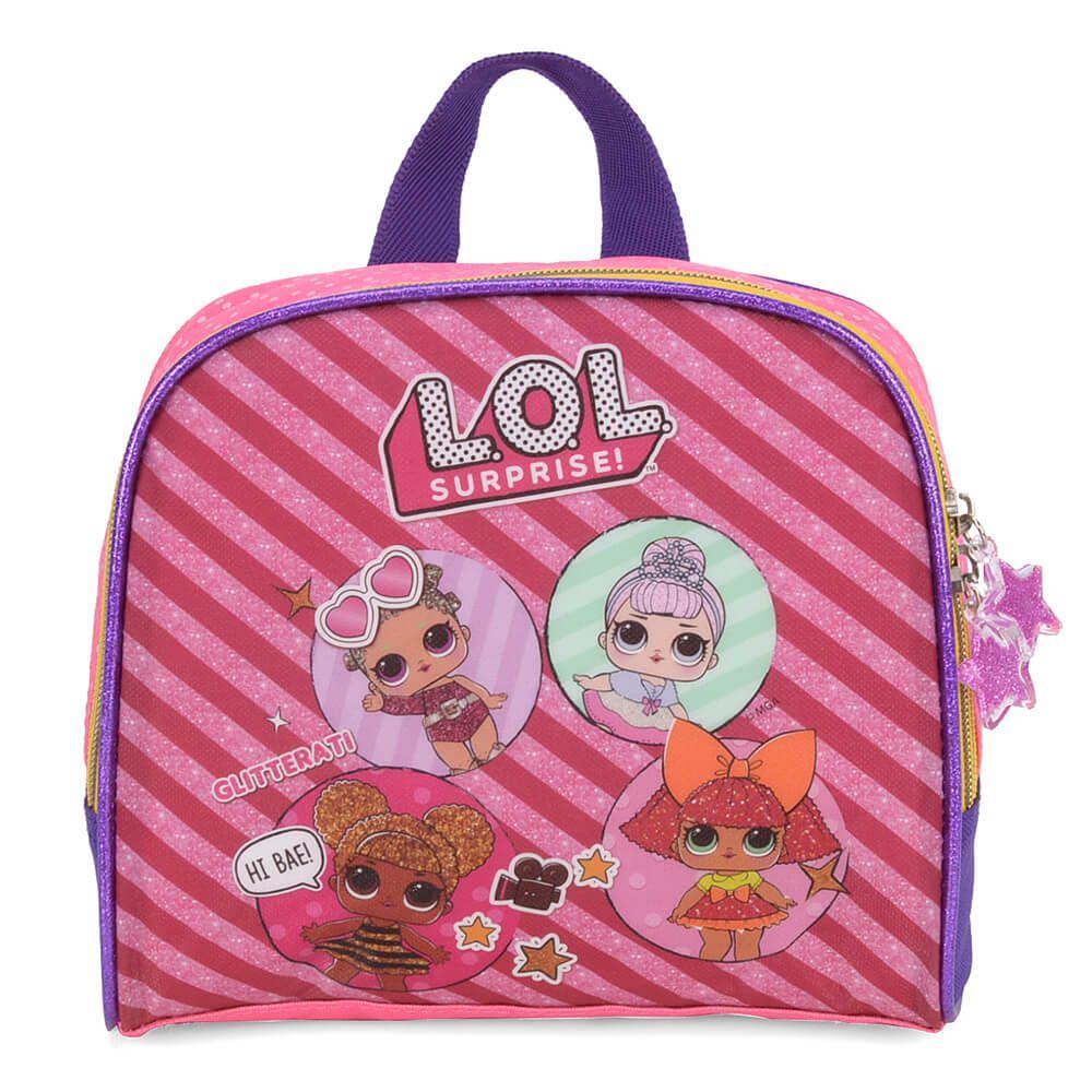 Lancheira Térmica Infantil LOL Surprise Original Pink