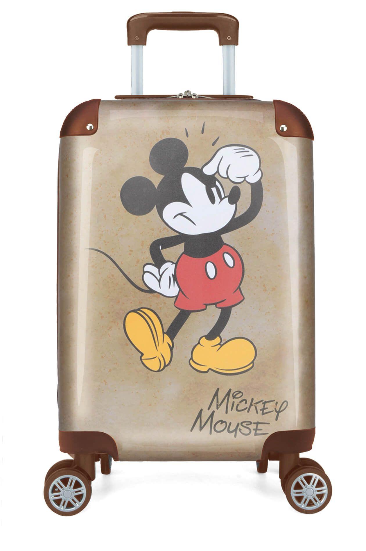 2366f9d06 Mala De Viagem Mickey Mouse Disney Pequena P Rodas 360° Ouro - Le Bazar ...