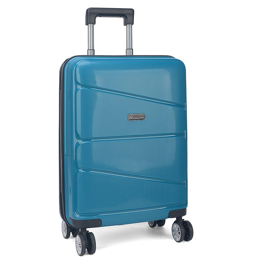Mala de Viagem Pequena P Bordo Polo King Coral Azul Original