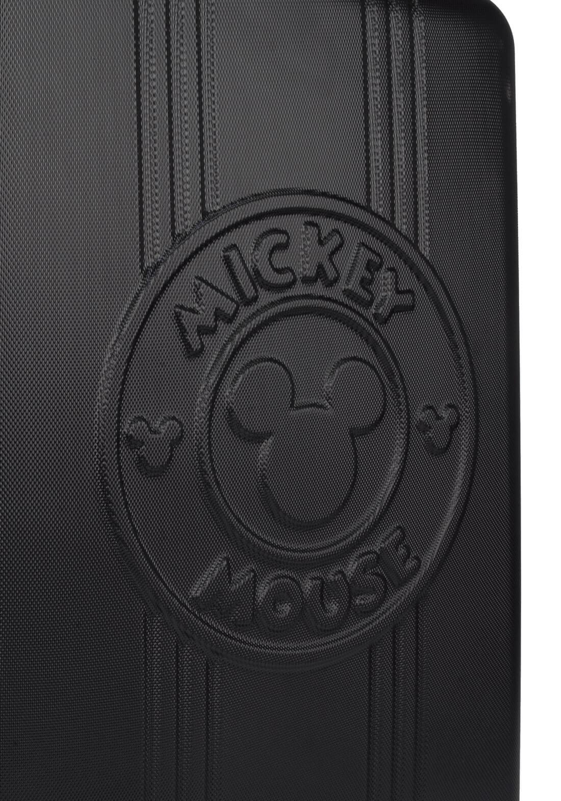 Mala De Viagem Rígida Mickey Mouse Relevo Pequena Original