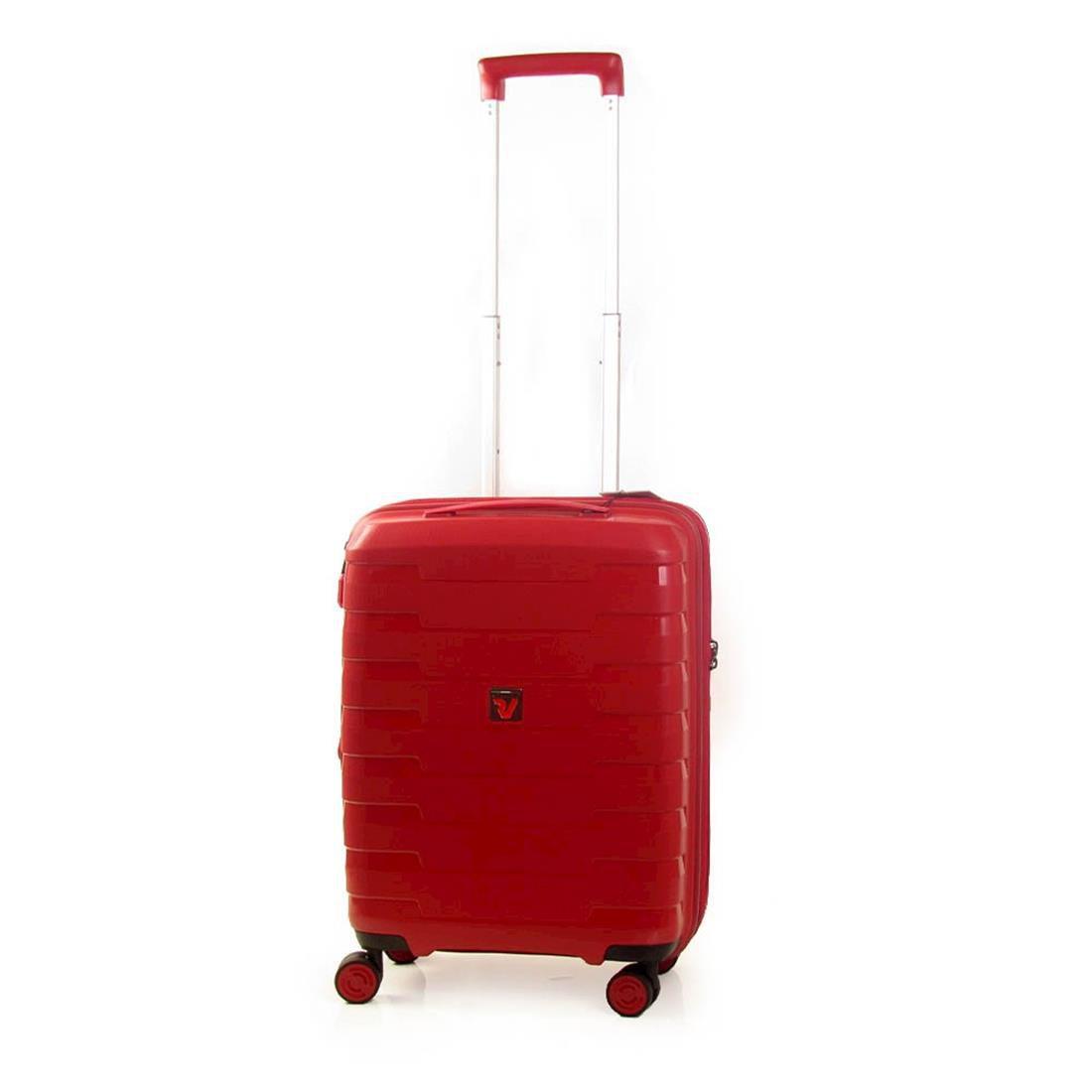 Mala Viagem Pequena Roncato Spirit 04 Rodas 360º Vermelha