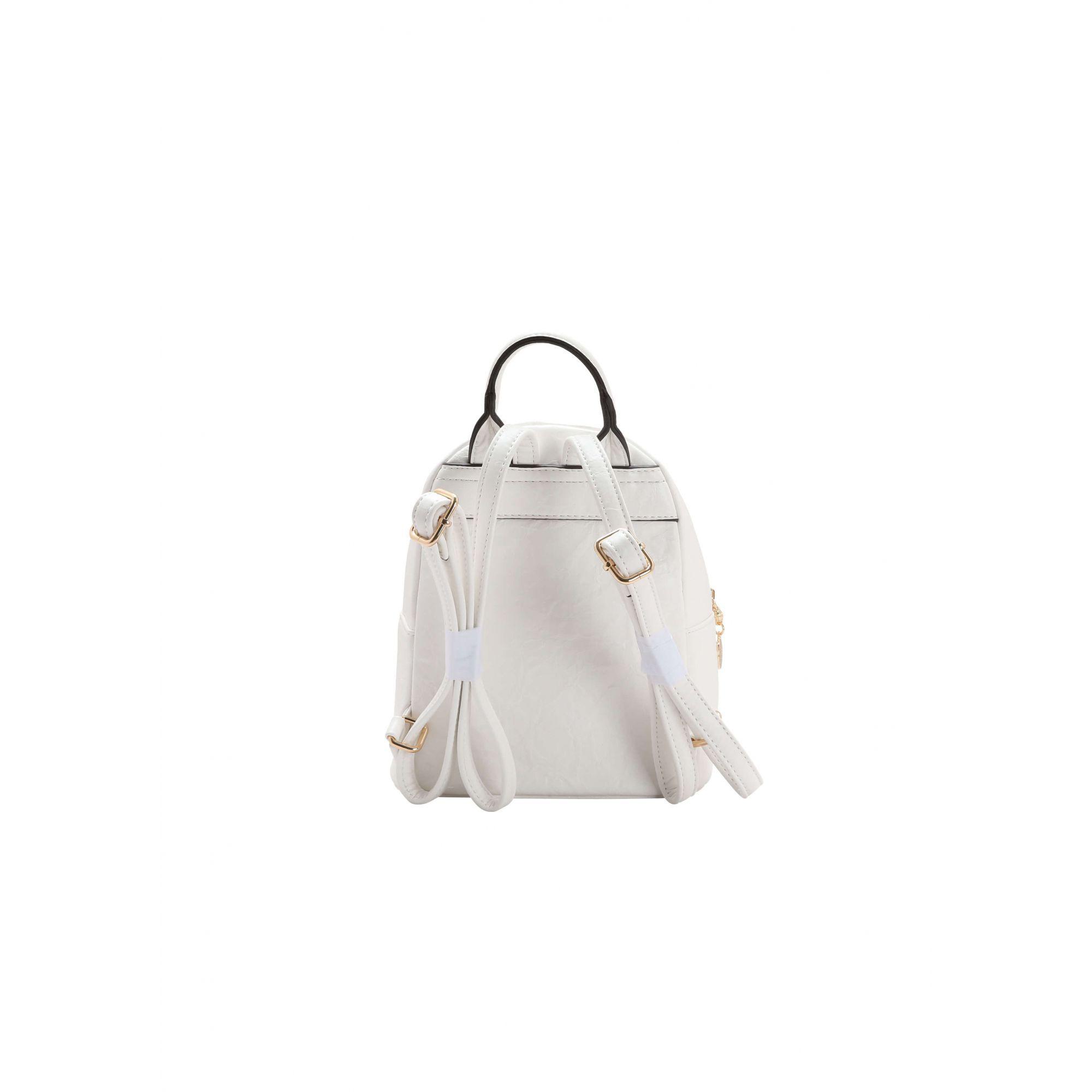 Mini Bolsa de Costas Mochilinha Chenson Branca Original
