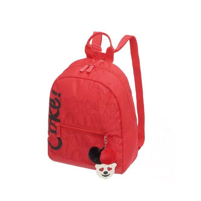 Mini Bolsa Mochila Coca Cola Bags Vermelha Chaveiro Original
