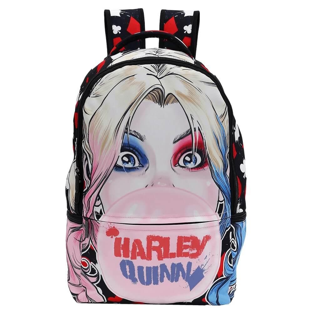 Mochila Batman Alerquina Harley Quinn Esquadrão Suicida Orig