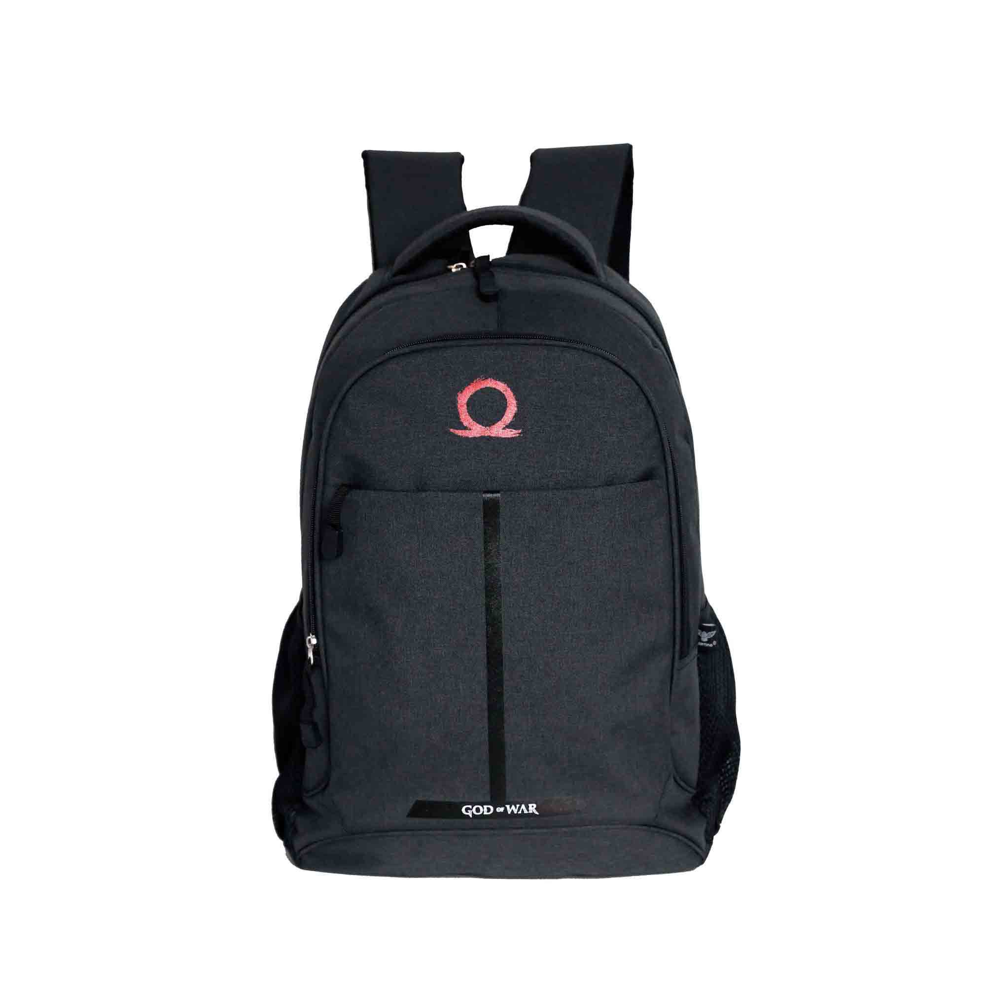 Mochila de Costas Escolar Juvenil God Of War Preto Original