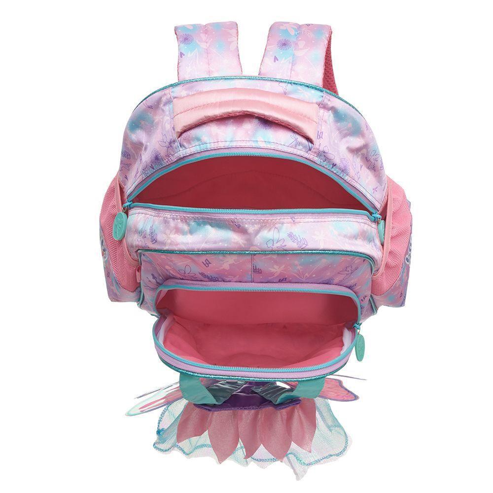 Mochila de Costas G Baby Alive Faires 3D Lilás Original