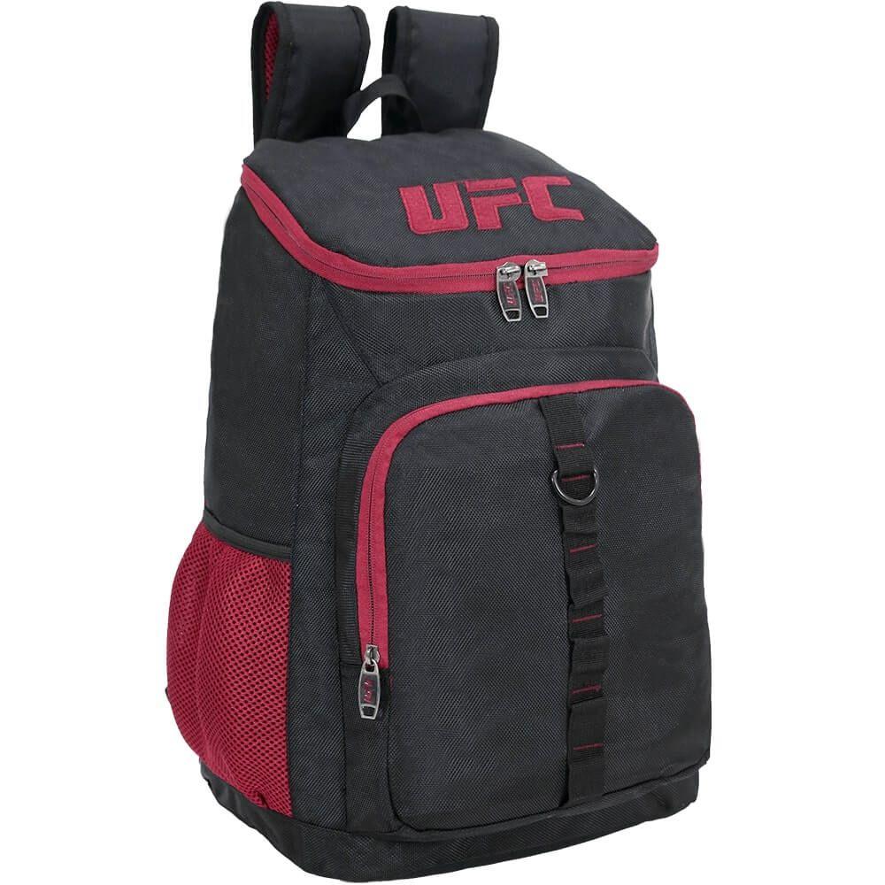 Mochila Escolar Masculina UFC Preta Original Notebook Nota